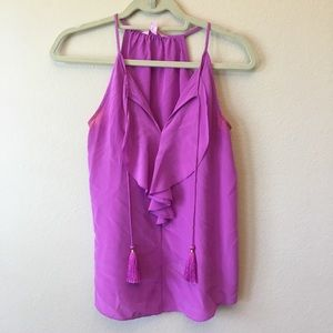 Lilly Pulitzer Lachelle Amethyst top